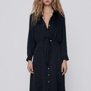 Zara dress with cutouts